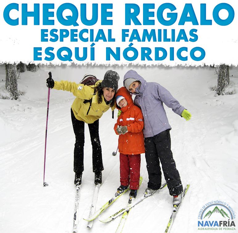 REGALA ESQUÍ DE FONDO EN FAMILIA!!