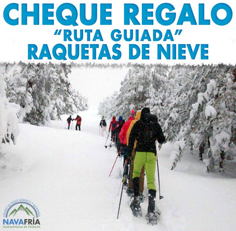 CHEQUE REGALO RAQUETAS DE NIEVE - 3